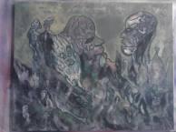 Dispute des dieux , pour que les dieux reviennent, tableau peint par Hermann Cebert