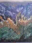 Lorsque nous abandonnons nos dieux, pour que les dieux reviennent, tableau peint par Hermann Cebert