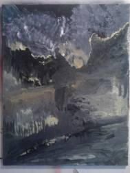 Le sens de la forme du vide, tableau peint par Hermann Cebert