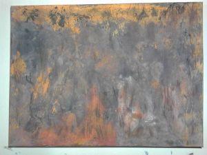 Couches inachevées, tableau peint par Hermann Cebert