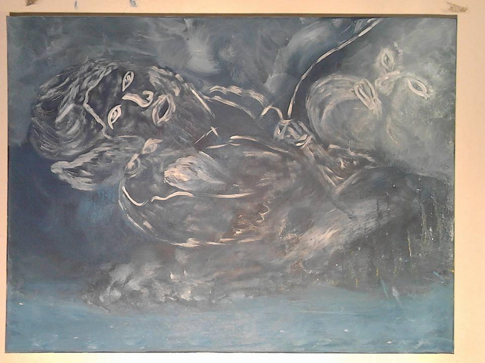 Le garçon qui voulait voir et rencontrer Dieu, tableau peint par Hermann Cebert